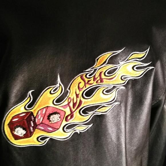Universal Jackets & Blazers - Betty Boop leather jacket L